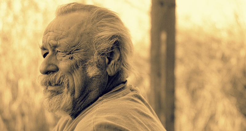 The great writer Jim Harrison