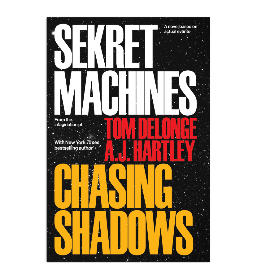 A.J. Hartley: Sekret Machines Book One: Chasing Shadows